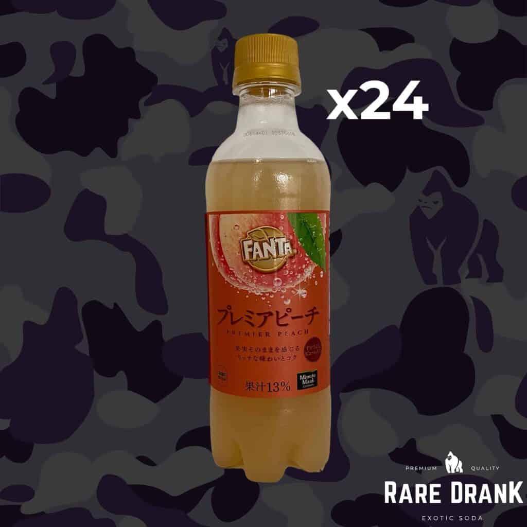 24 bottles Fanta Premier Peach Full Case