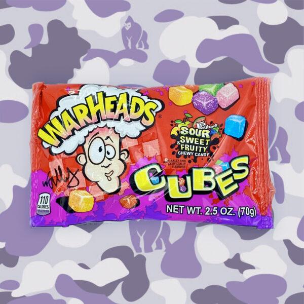 Warheads Cubes Sour Sweet & Fruity