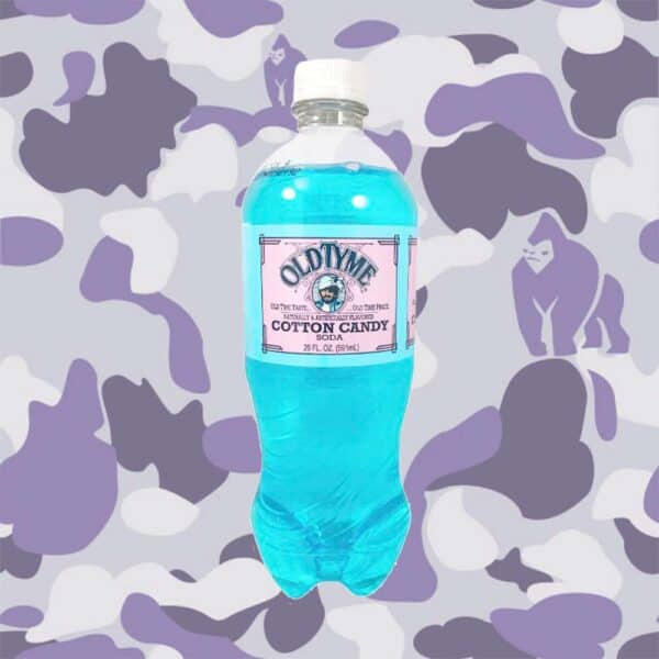 Old Tyme Cotton Candy Soda