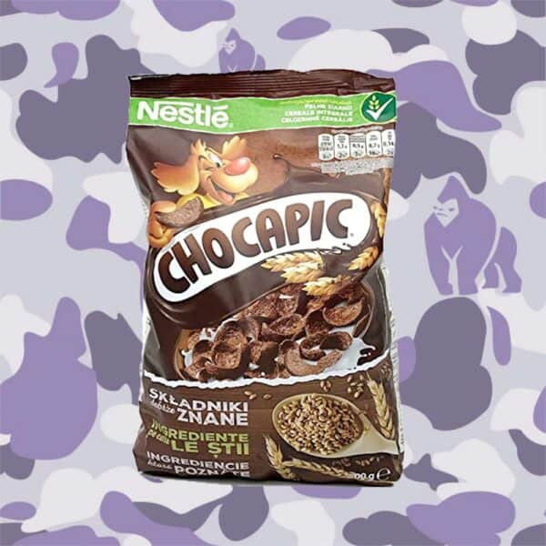 Chocapic cereal bag