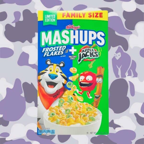 Frosted flakes apple jack family size
