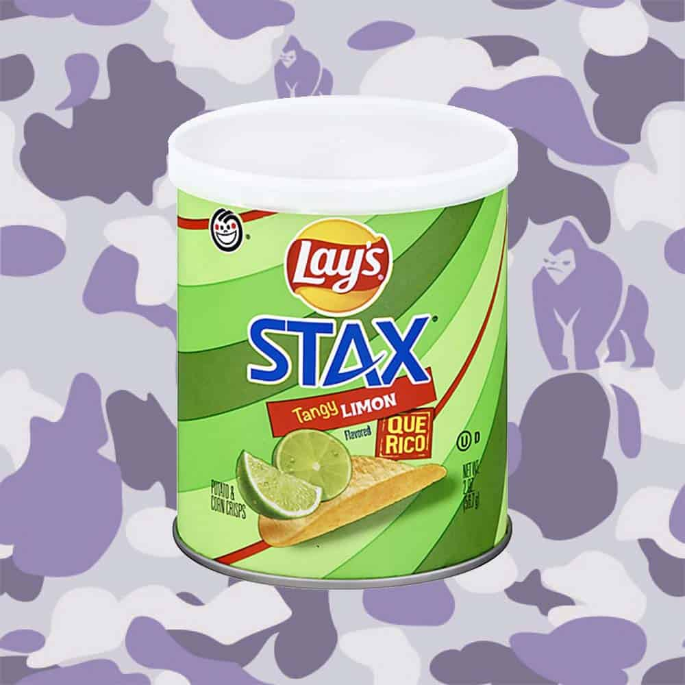 Lay's Stax Tangy Lemon