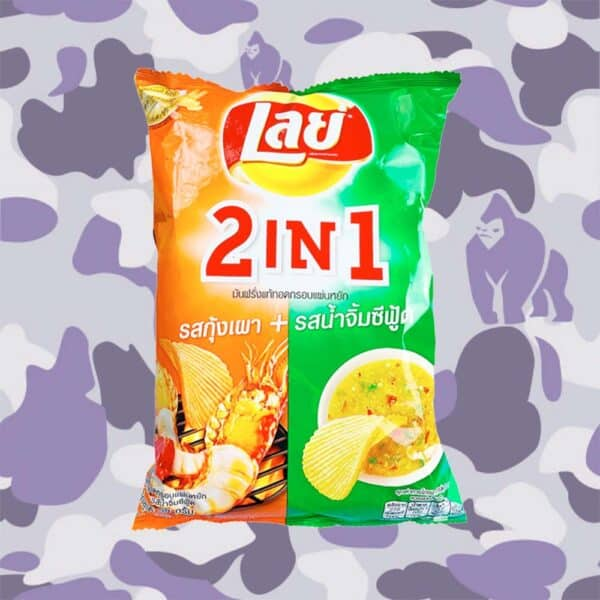 Lay's Shrimps and Sauce